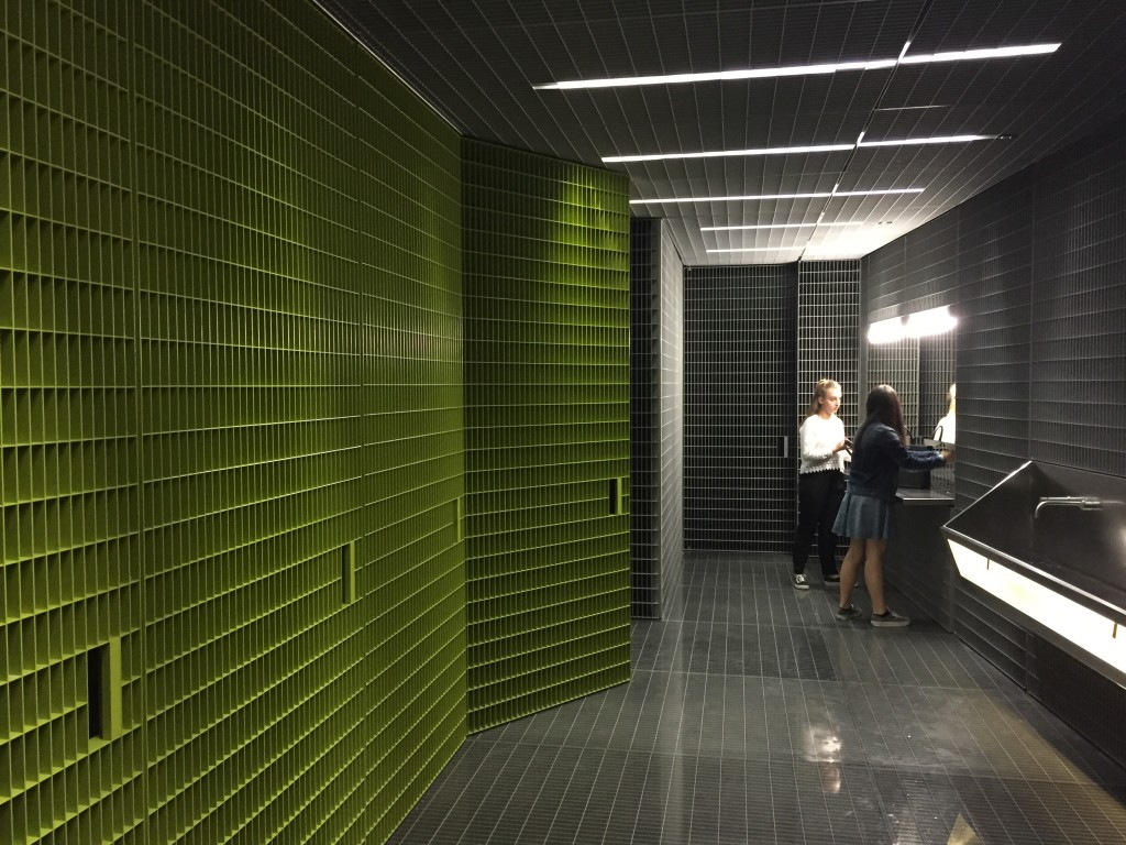 Fondazione Prada- bathroom