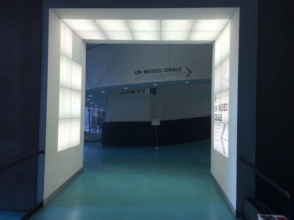 Entrance Museo del Novecento