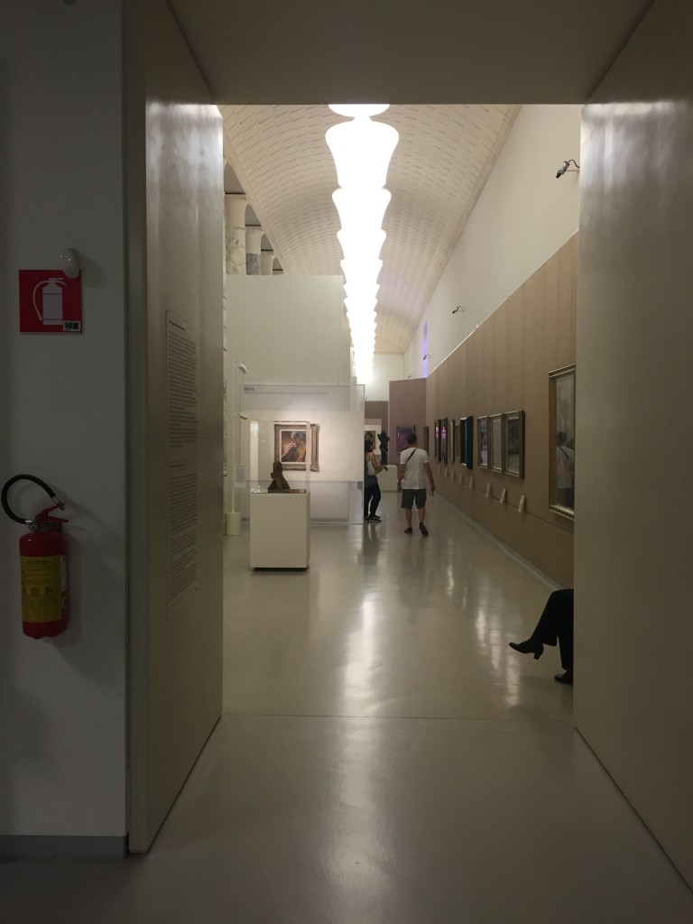 First hall Museo del Novecento