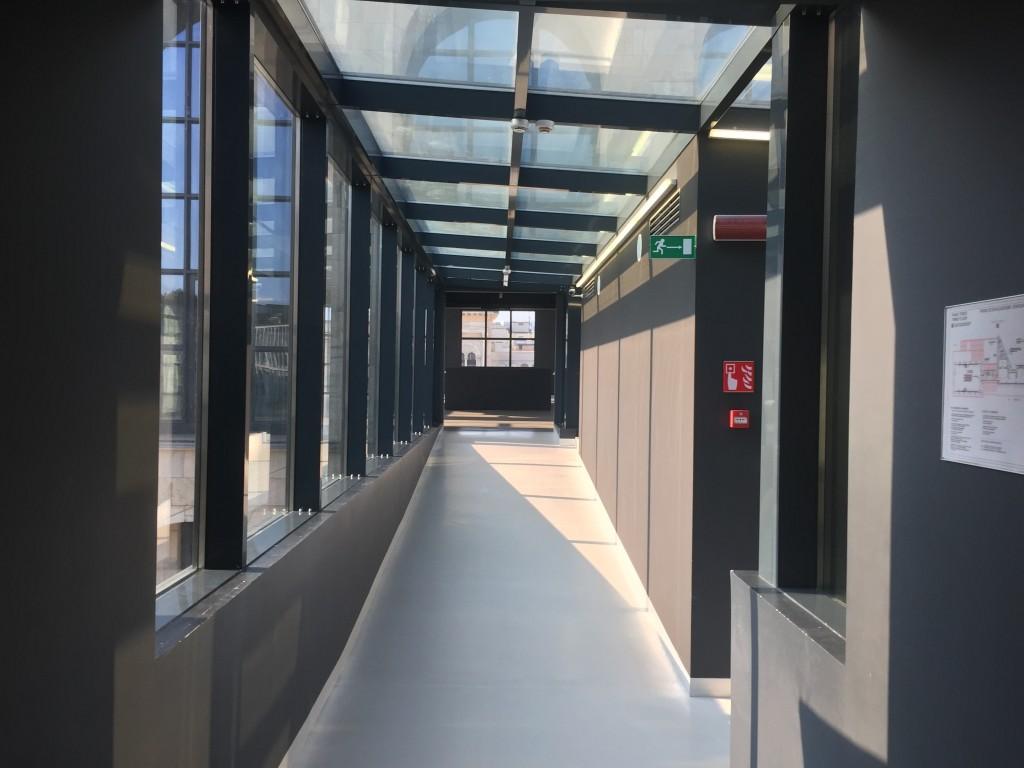 Walkway in Museo del Novecento