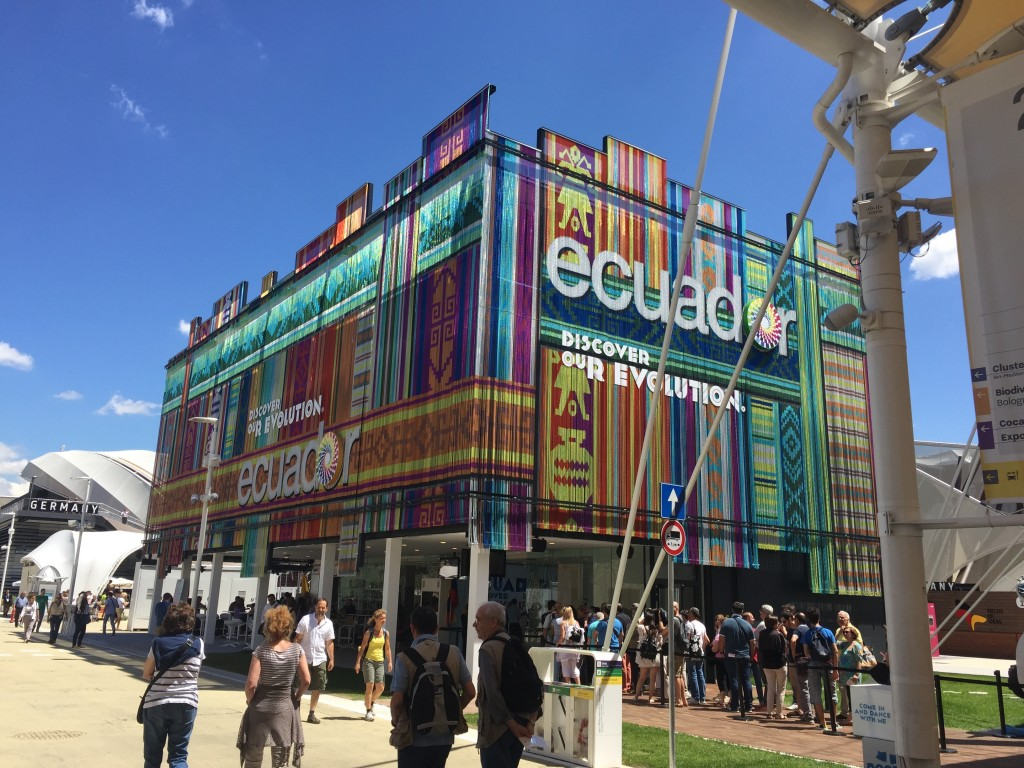 Ecuador pavilion