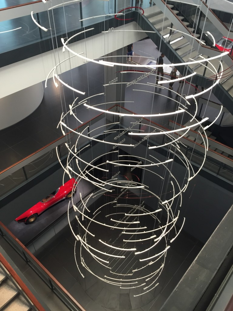 Interior Alfa Romeo museum