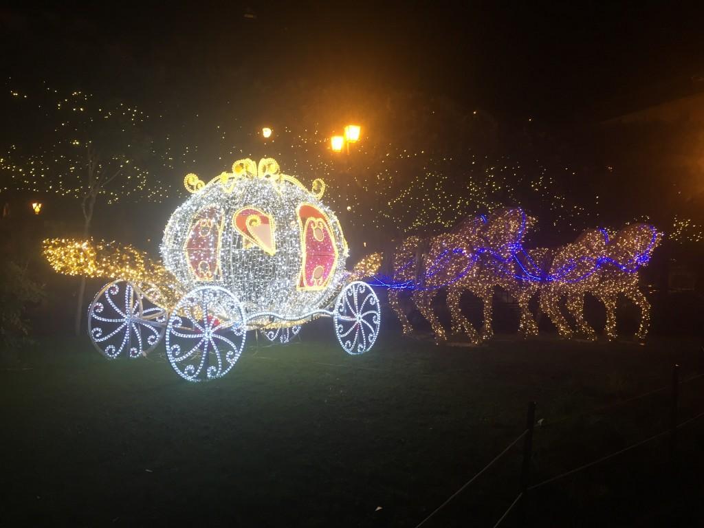 The Pumpkin carriage of Cinderella