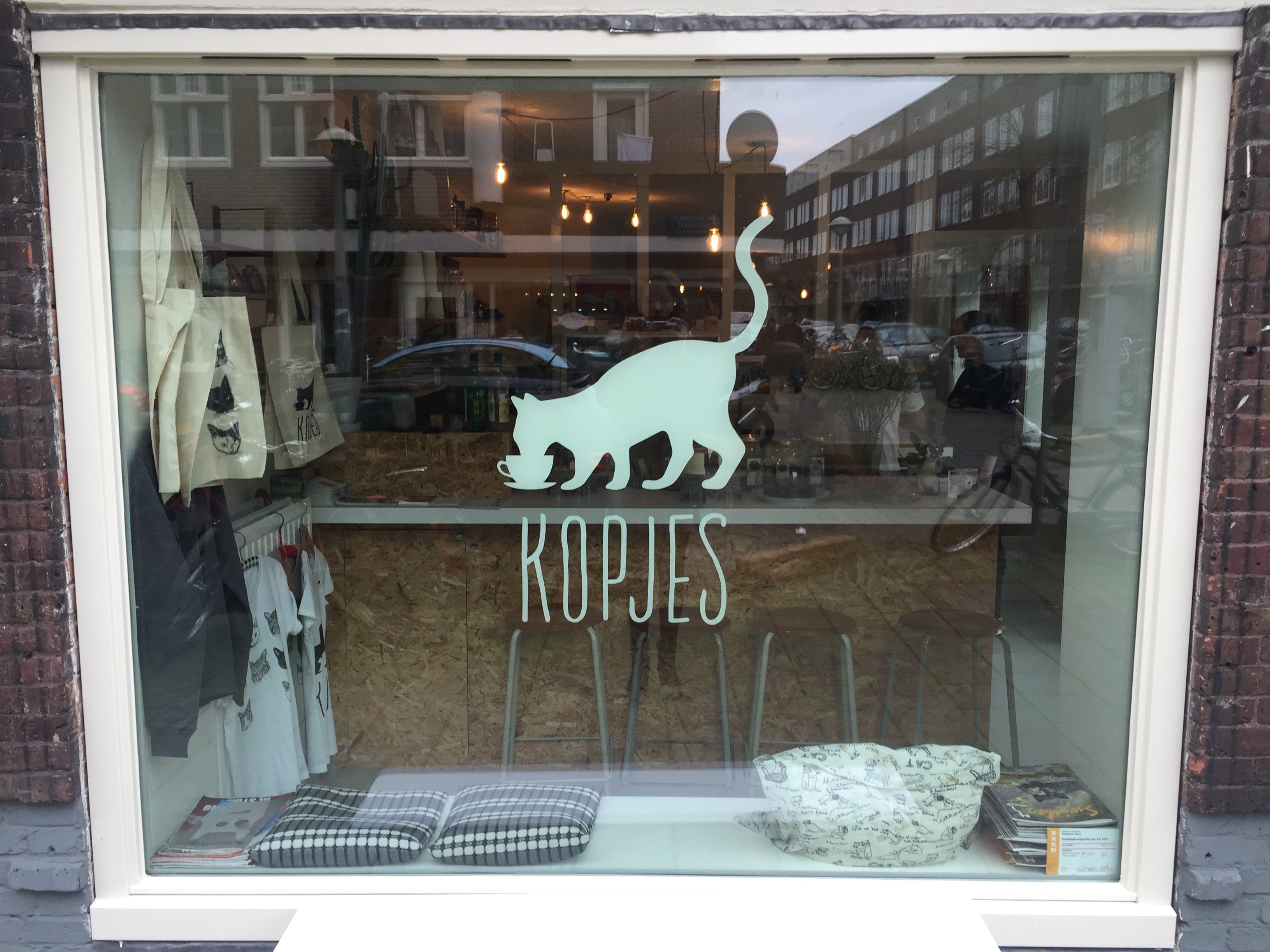 Do: Kopjes, a Cat café in Amsterdam