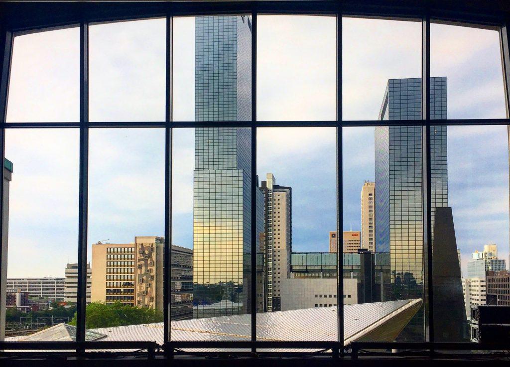 View from Groothandelsgebouw
