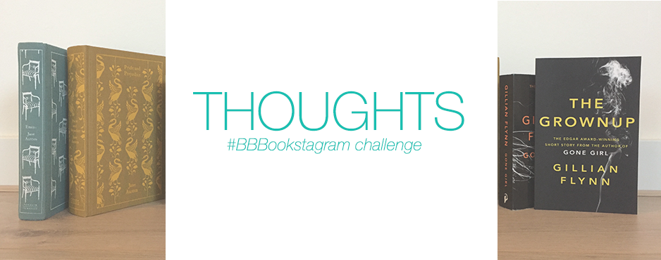 Thoughts: #BBBookstagram challenge