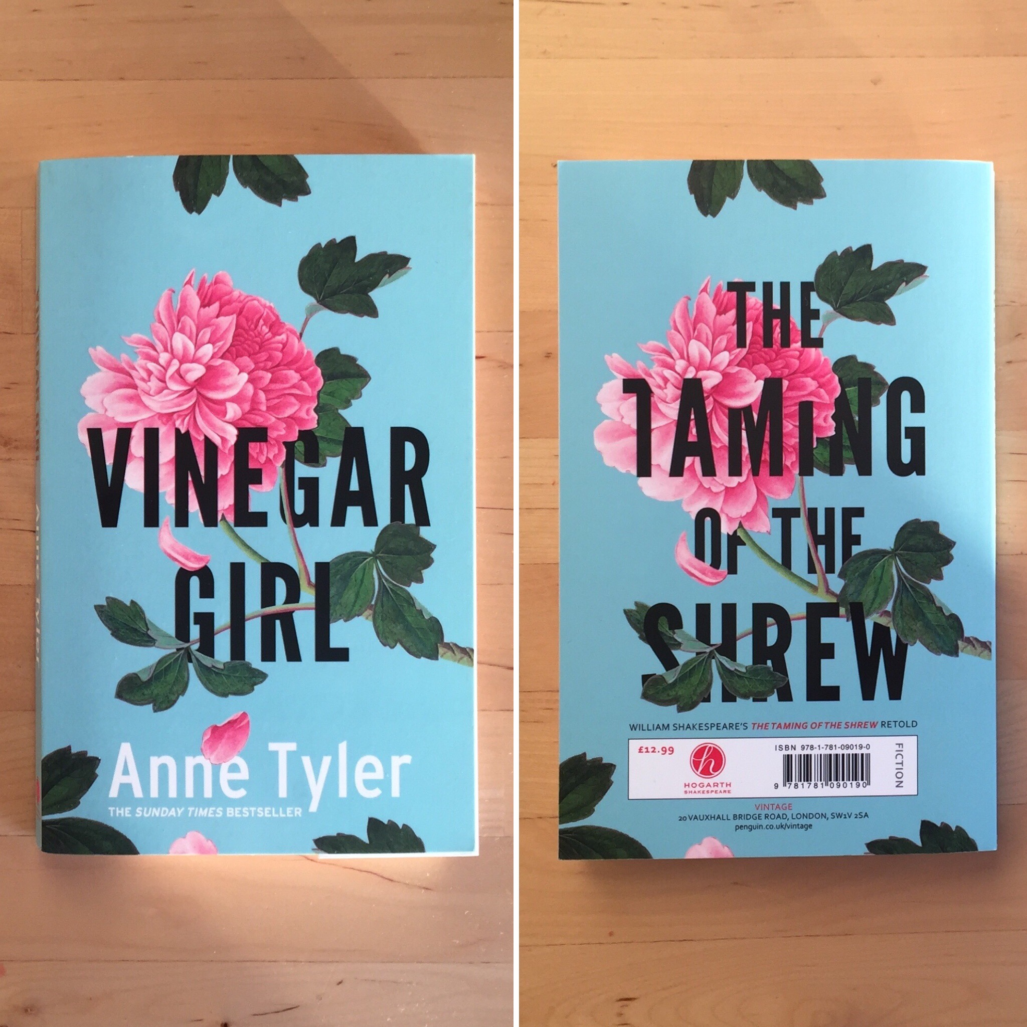Review: Vinegar Girl // The Taming of the Shrew