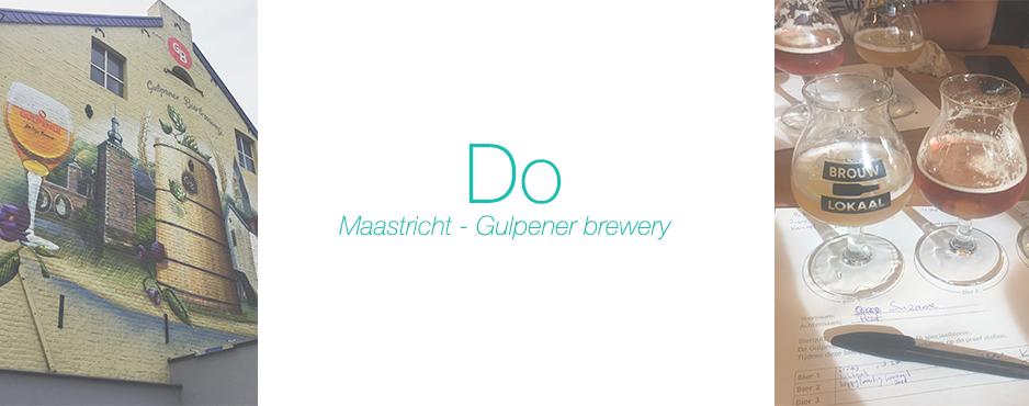 Maastricht – Gulpener brewery